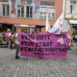 Bilder vom Frauenstreik