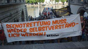 Demo: Seenotrettung muss wieder selbstverständlich werden! (+Fotos)