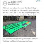 Klima Sondersession Kantonsrat Luzern
