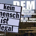 28.8. Demo gegen das Nothilfe - und Ausschaffungsregime