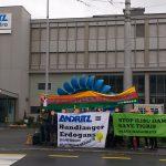 Kundgebung gegen Inbetriebnahme des Ilisu Staudamms