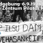 Kundgebung gegen Ilisu Staudamm 6.9.2019