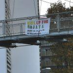 5 Tage - 5 Transpis Solidarität mit Rojava