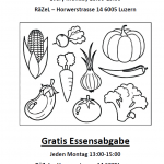 Gratis Essensabgabe / Food donations