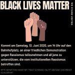 Black Lives Matter Demo in Luzern