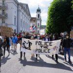 Erfolgreiche Black Lives Matter Demonstration in Luzern